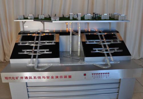 现代化矿井通风系统与安全实验装置