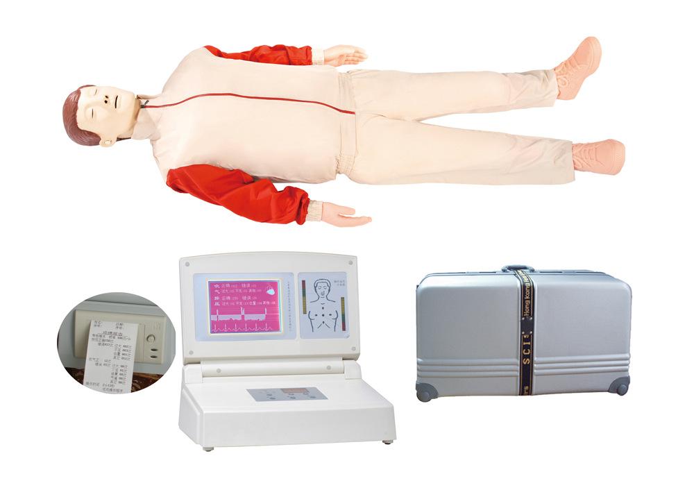 大屏幕液晶彩显高级电脑心肺复苏模拟人