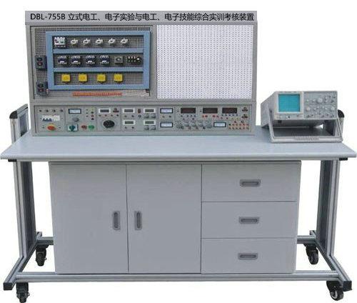 立式电工、电子实验与电工、电子技能综合实训考核装置